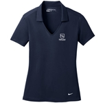 HS508/637165<br>Womens - Nike Dri-FIT Vertical Mesh Polo