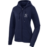 HS505/LST238<br>Sport-Tek ® Ladies Sport-Wick ® Fleece Full-Zip Hooded Jacket