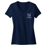 HS205/DM1170L<br>District Made Ladies Perfect Weight V-Neck Tee