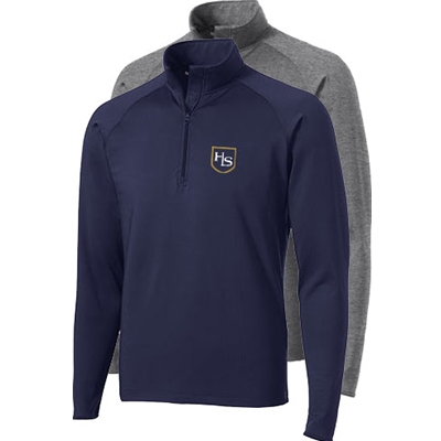 HS407/ST850<br>Mens - Sport-Wick Stretch 1/2 Zip